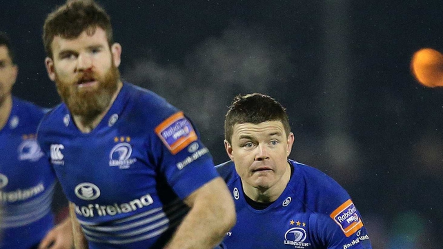 Gordon D'Arcy and Brian O'Driscoll both start for Leinster