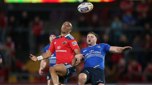 Simon Zebo and Fergus McFadden could have a crucial chance to impress Ireland boss Joe Schmidt if their sides clash