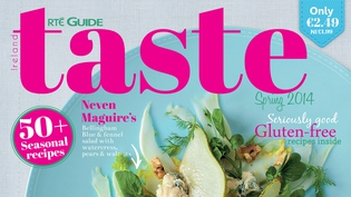 The latest issue of Taste is on the shelves now!
