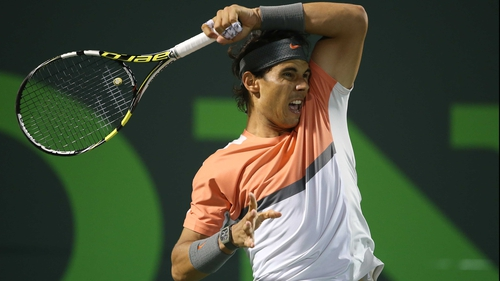 Rafael Nadal is seeking his first Sony Open title