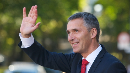 Jens Stoltenberg will take over as NATO chief on 1 October