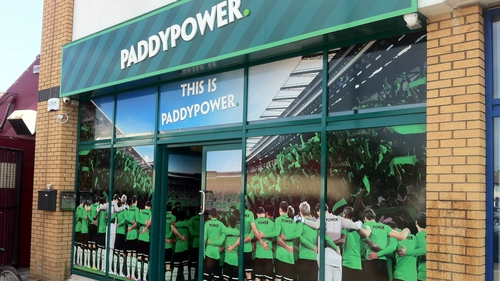 Paddy Power opens new shop in Stevenage, in the UK - its 500th shop