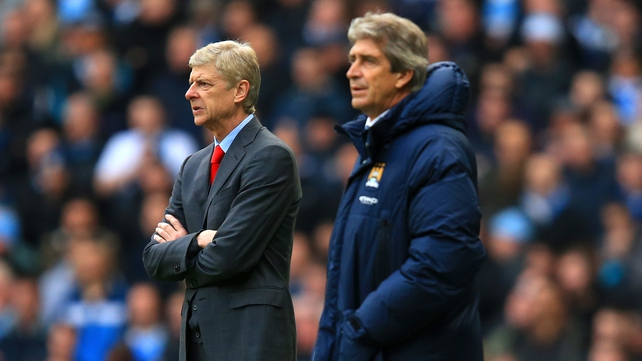 Arsene Wenger and Manuel Pellegrini go head to head at the Emirates