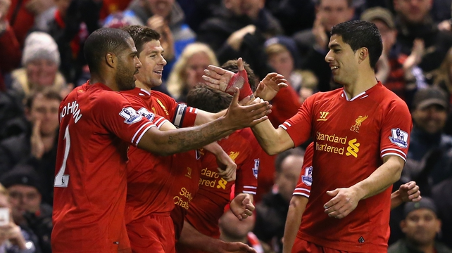 Luis Suarez is aiming to inspire Liverpool to Premier League glory