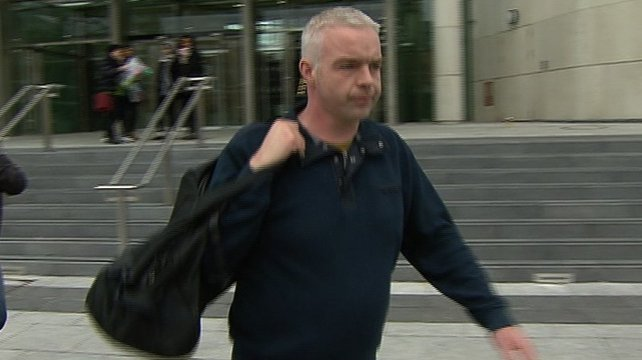Garda Donal Maguire was brought before Judge Patricia McNamara at Dublin District Court