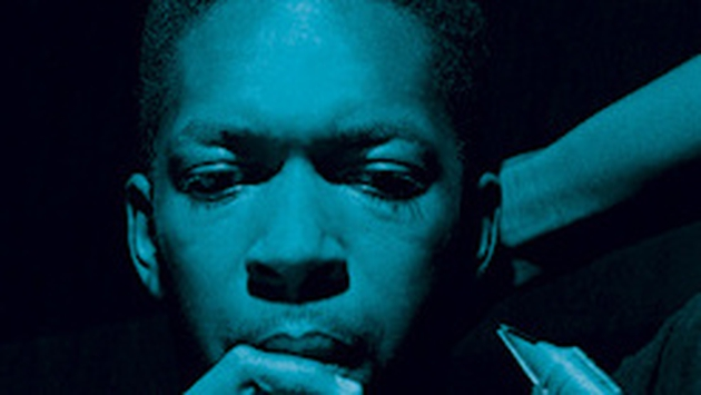 John Coltrane, as pictured on the artwork for Blue Train, a Blue Note classic