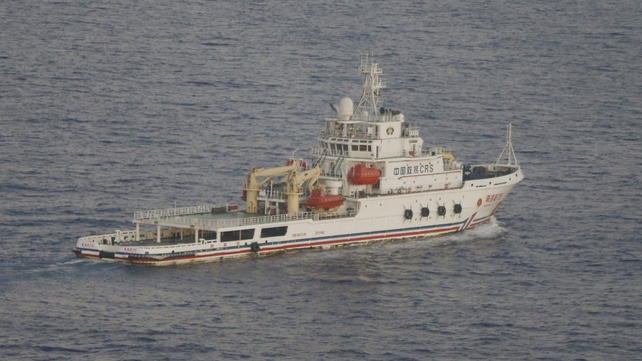 Several Chinese ships are either in the search area or on their way there