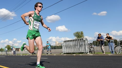 Paul Pollock finished 30th at the World Half Marathon Championships
