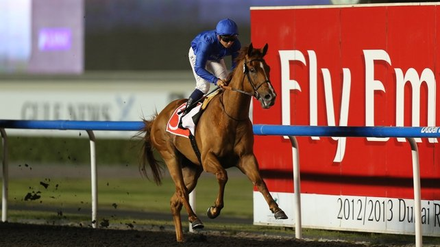 African Story in action at Meydan in 2013