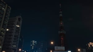 The Tokyo Tower is seen after its lights were turned off