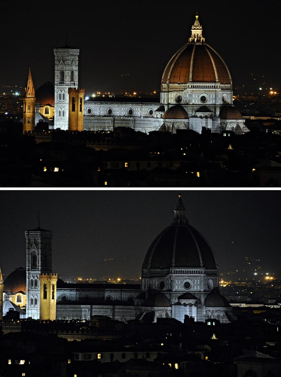 So too did Florence's famous Basilica di Santa Maria del Fiore