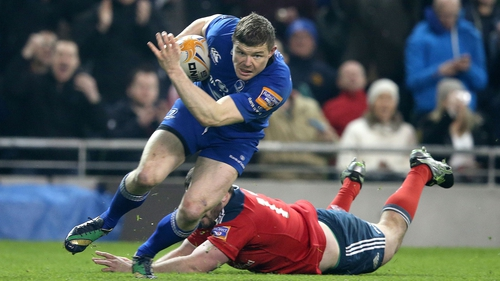 Brian O'Driscoll's neck injury is minor and he should be fit to play next weekend