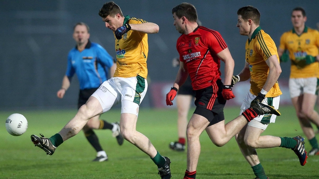 Meath's Shane O'Rourke scored two points for Meath