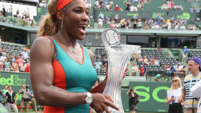 Serena Williams: 'It was a really important victory, especially playing Li Na, who has been playing so well'