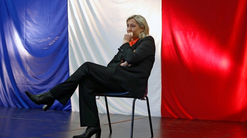 The results so far are not positive for Marine Le Pen's far-right National Front