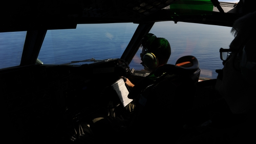 60 aircraft and ships are involved in the search for the missing plane