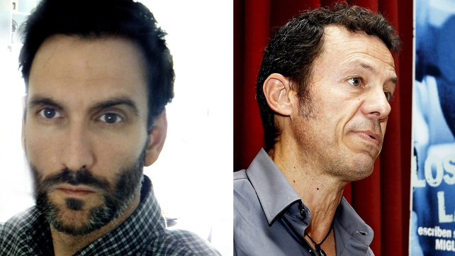 Ricardo Garcia Vilanova (L) and Javier Espinosa were freed yesterday after being held more than six months in Syria (Pic: EPA)