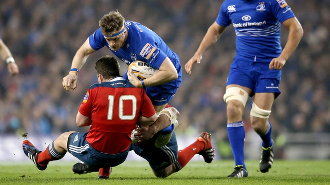 Leinster were nine points down at one stage