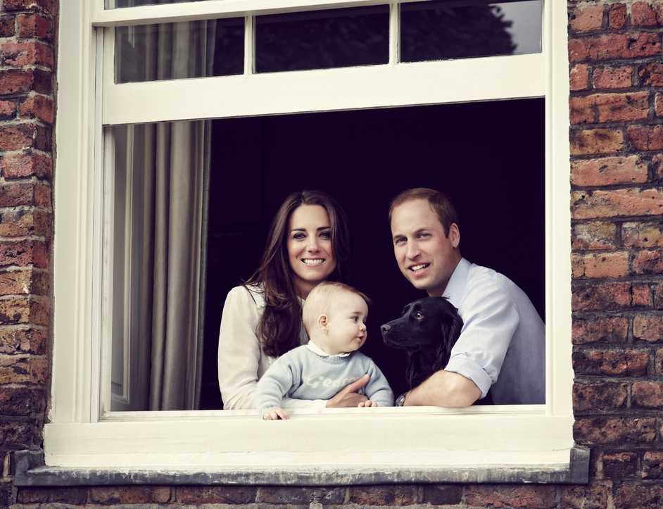The Duke and Duchess Of Cambridge yesterday released a family photograph ahead of a tour to Australia and New Zealand