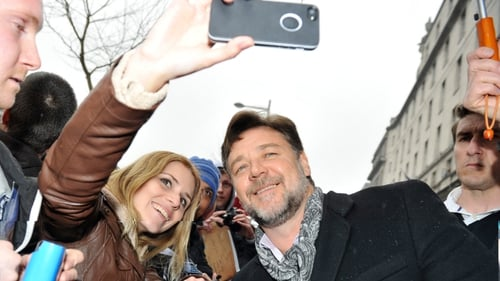 Russell Crowe at the recent premiere of Noah in Dublin