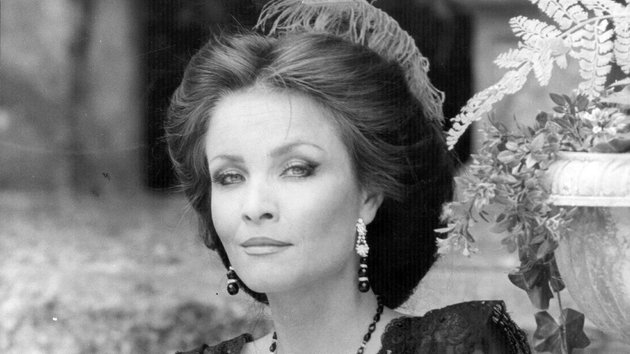 Kate O'Mara in a 1981 production of Much Ado About Nothing