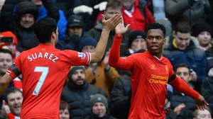 Luis Suarez and Daniel Sturridge are both nominated for Player of the Year, and Sturridge is also nominated for Young Player of the Year