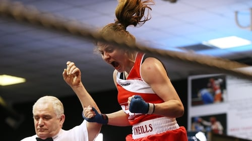Michaela Walsh won gold in Germany