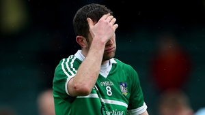Dejection on the face of Donal O'Grady after Limerick's loss against Galway