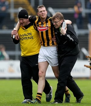 Walter Walsh walking wounded for Kilkenny