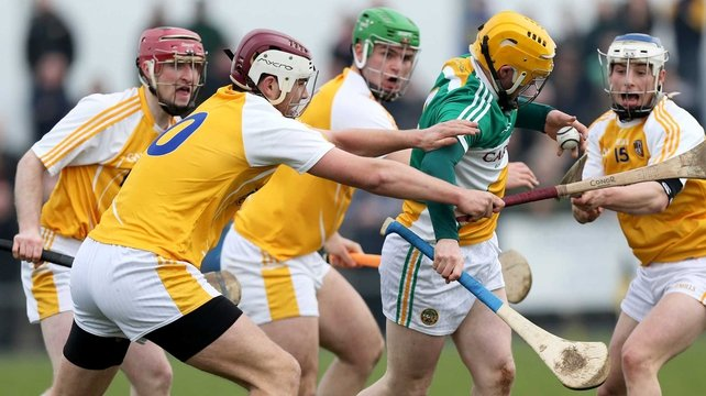 Antrim have avoided relegation by beating Offaly in Ballycastle