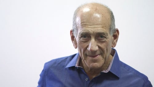 Ehud Olmert denied any wrongdoing in the apartment complex deal