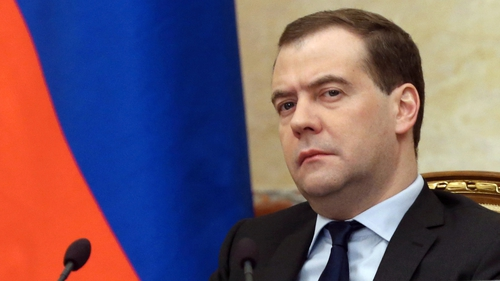 Dmitry Medvedev said Moscow would adapt the accord to existing legal norms