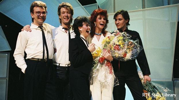 Linda Martin, Johnny Logan and Backing Singers (1984)