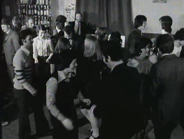 Dancing at the Seaman's Club