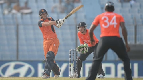 Wesley Barresi hit 48 runs for the Netherlands