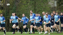 Leinster prepare for Heineken Cup quarter-final against Toulon