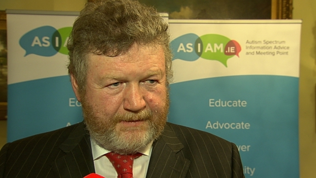 James Reilly said he supports the HSE's concerns about public consultants working at St Vincent's Private Hospital