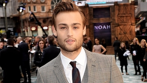 Douglas Booth plays an millennia-old playboy prince in Jupiter Ascending