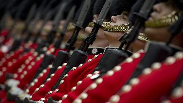 The marksman was a lance corporal in the Coldstream Guards