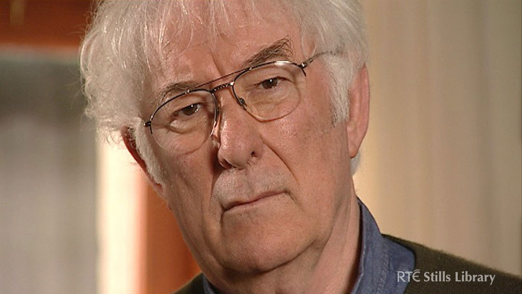 Seamus Heaney on 'The View Presents', 2006. © RTÉ Archives 3018/002