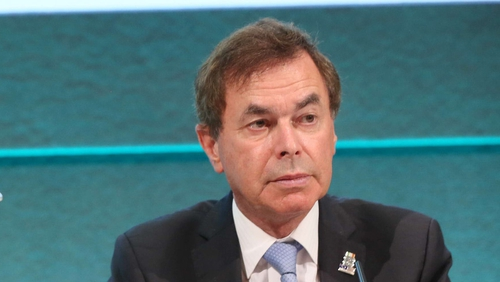 A spokesperson said Alan Shatter has a family commitment to keep