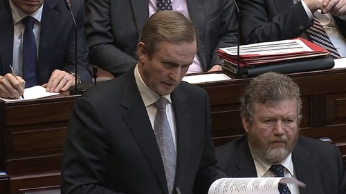 The Taoiseach told the Dáil the recordings were inadvertent