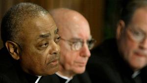 "Archbishop Wilton Gregory said he took his ""eye off the ball"""