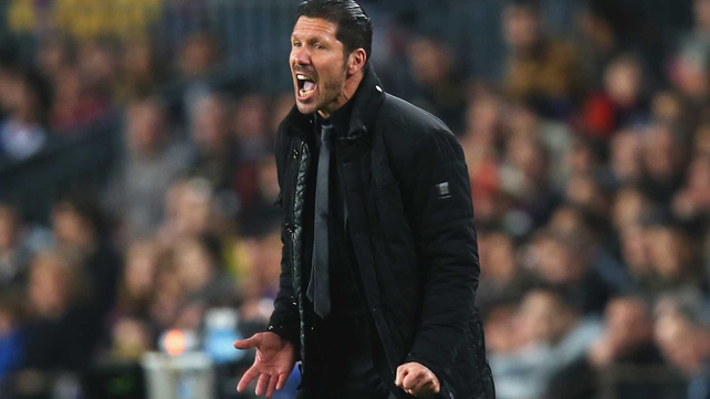 Diego Simeone has imbued his side with a never-say-die attitude that was the hallmark of his own playing days