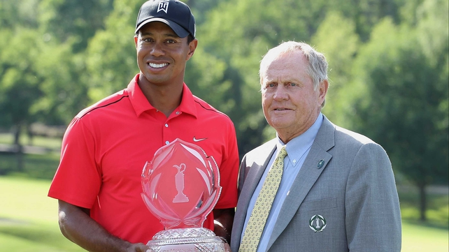 Jack Nicklaus (R): 'Tiger has a lot of years of good golf ahead of him'