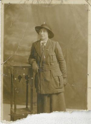 Eilís Uí Chonaill in Cumann na mBan uniform (Pic: Military Archives)