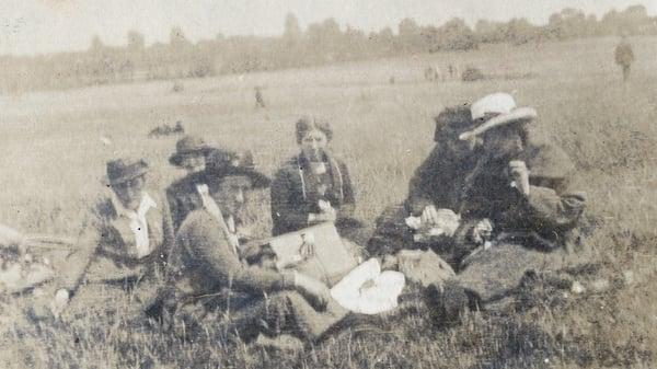 Cumann na mBan members, including Constance Markievicz