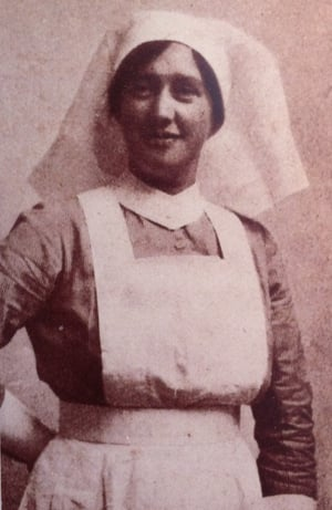 Ms O'Farrell worked as a nurse (Pic: Glasnevin Cemetery Exhibition)