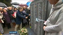 Hundreds attend unveiling of Bethany Home headstone