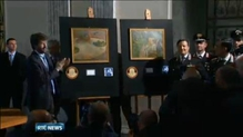 Italian police recover two stolen paintings in factory worker's kitchen